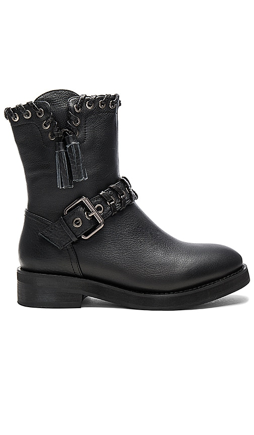 Lola Cruz Diomede Boot in Black