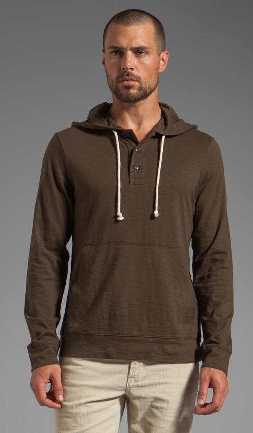 Waterfront Hooded Henley