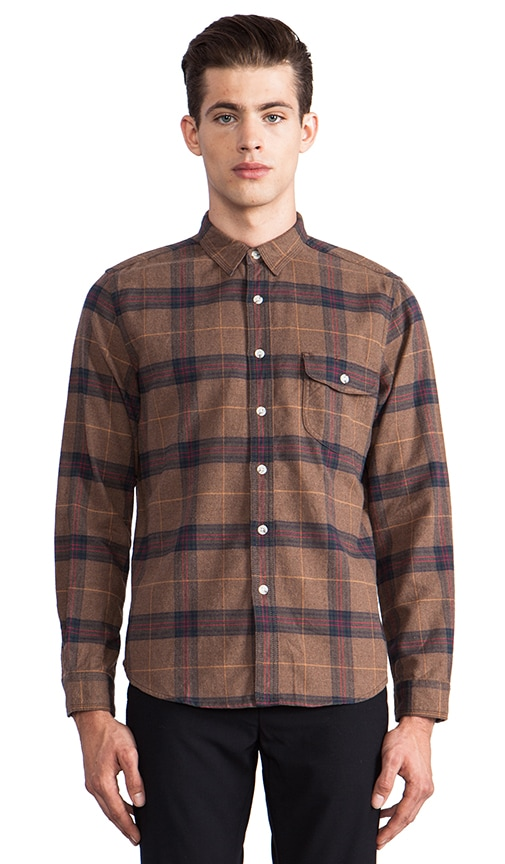 Trade Post Flannel Button Down