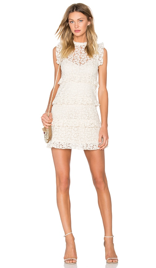 Line & Dot Twiggy Dress in Cream