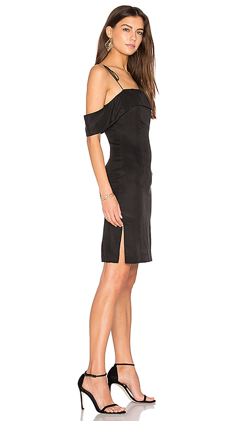 Line & Dot Eva Tube Dress in Black