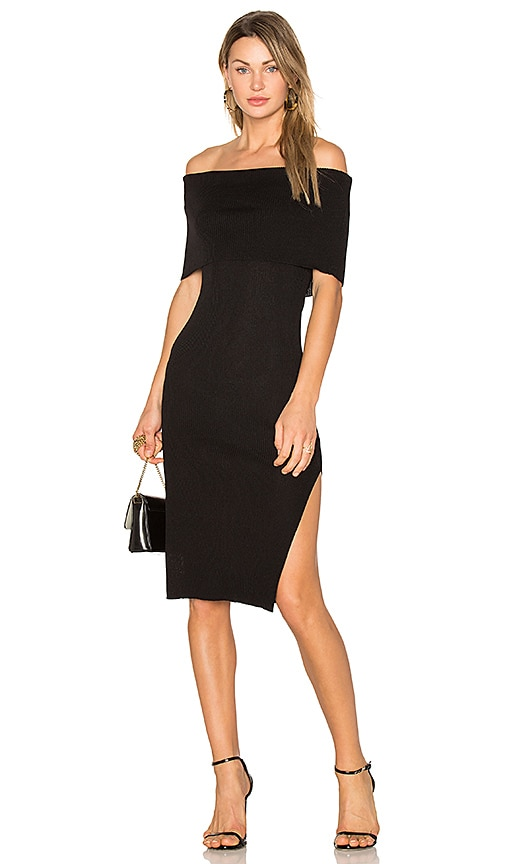 Line & Dot Perez Dress in Black