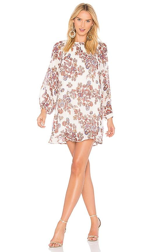 Line & Dot Adelene Babydoll Dress in Ivory