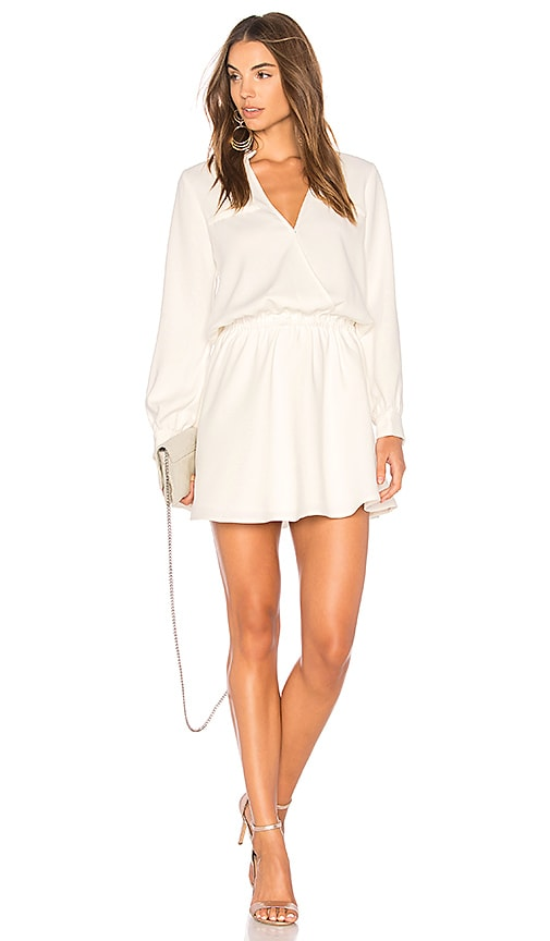 Line & Dot Marais Dress in White