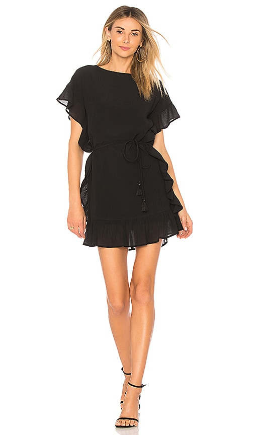 Line & Dot Dina Dress in Black
