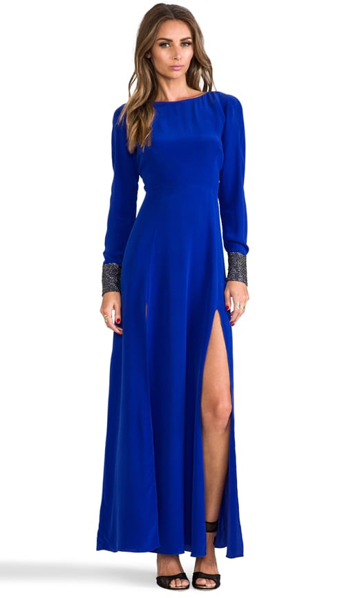 Deep Slit Maxi Dress
