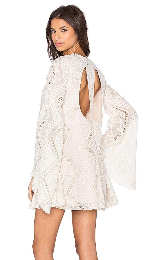 Line & Dot Lyon Lace Dress in Cream