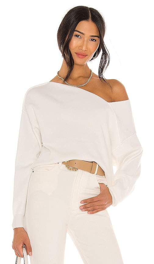 Line & Dot FAVORITE OFF SHOULDER SWEATER