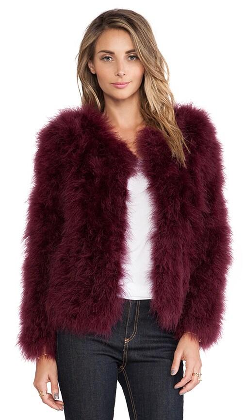 Angelina Feathers Jacket