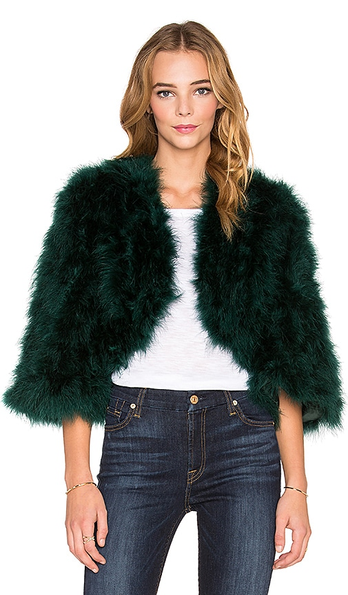 Boheme Marabou Feather Jacket
