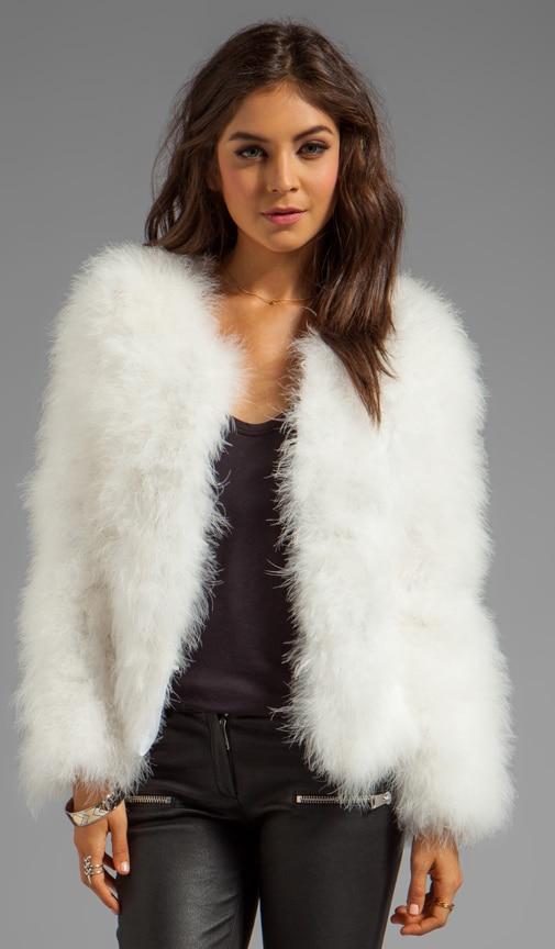 Marabou Faux Fur Jacket