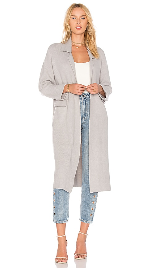 Line & Dot Lyn Coat in Gray