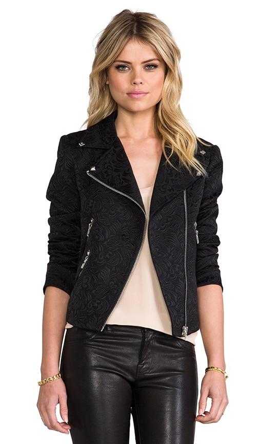 Jacquard Moto Jacket