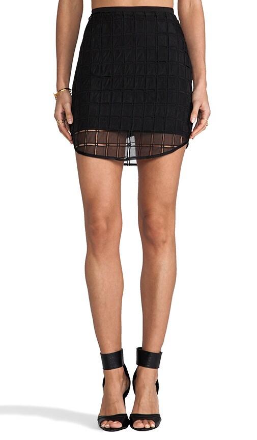 Organza Contrast Skirt