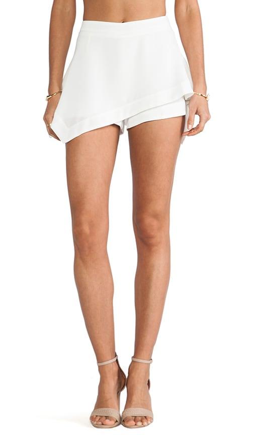 Asymmetry Flare Skirt