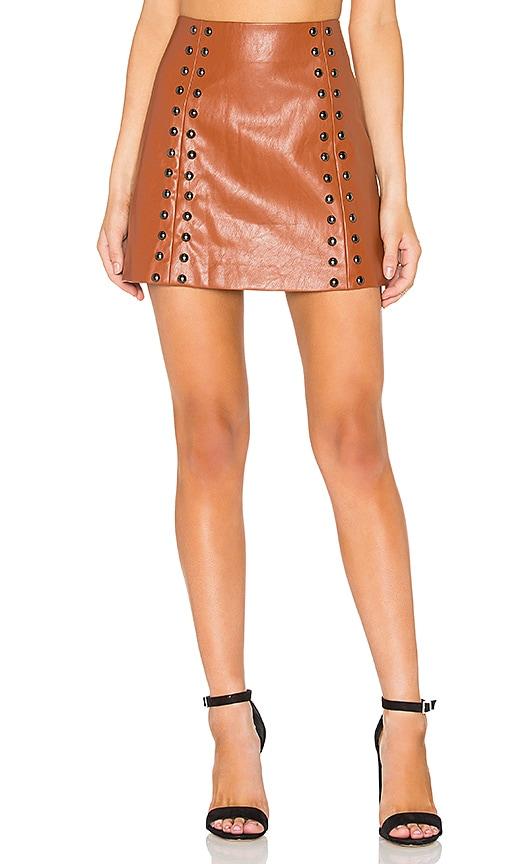 Stud A-Line Skirt