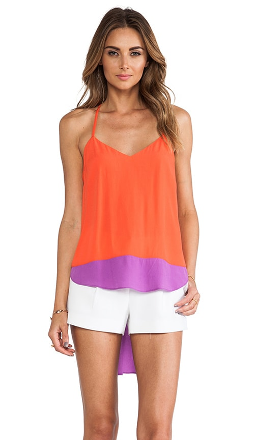 T Back High Low Top