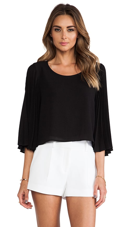 Sunburst Pleat Top