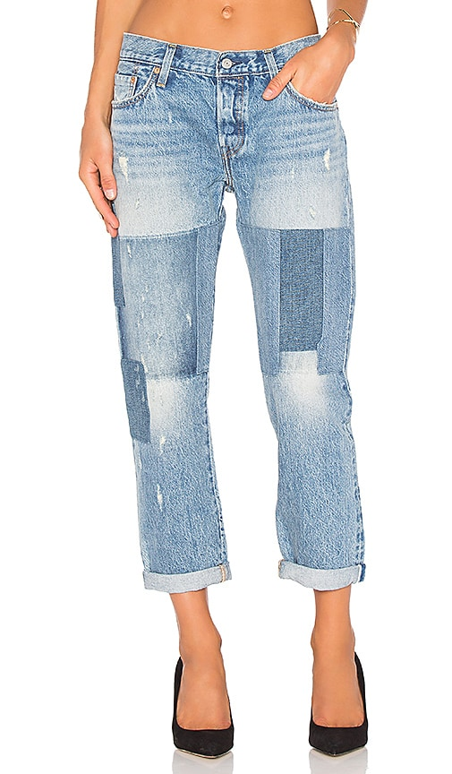 4f7a7e5a LEVI'S 501 CT in Stacked Patch | REVOLVE