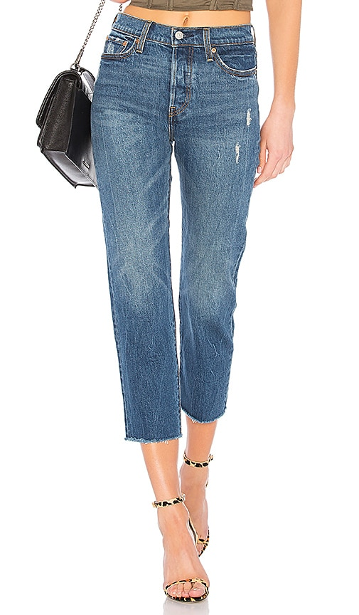 Wedgie Straight Jeans In Lasting Impression