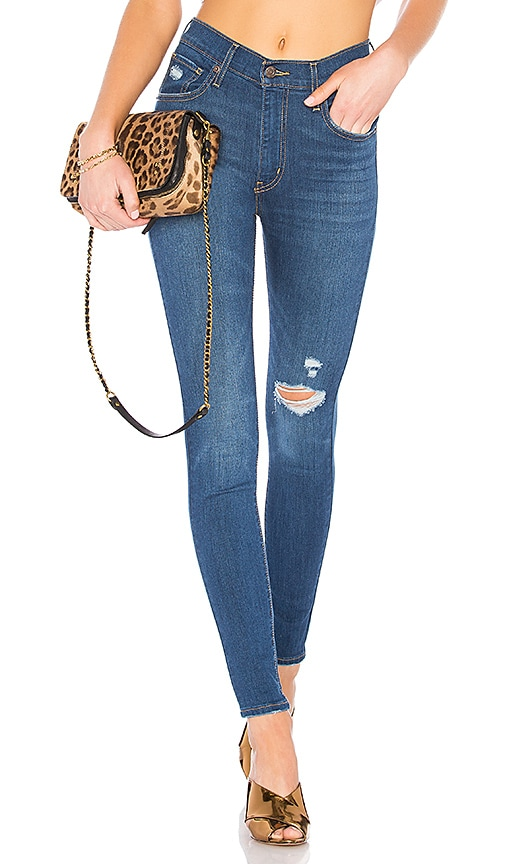 huge selection of e19b2 ad279 LEVI'S Mile High Super Skinny in Wanna Be | REVOLVE