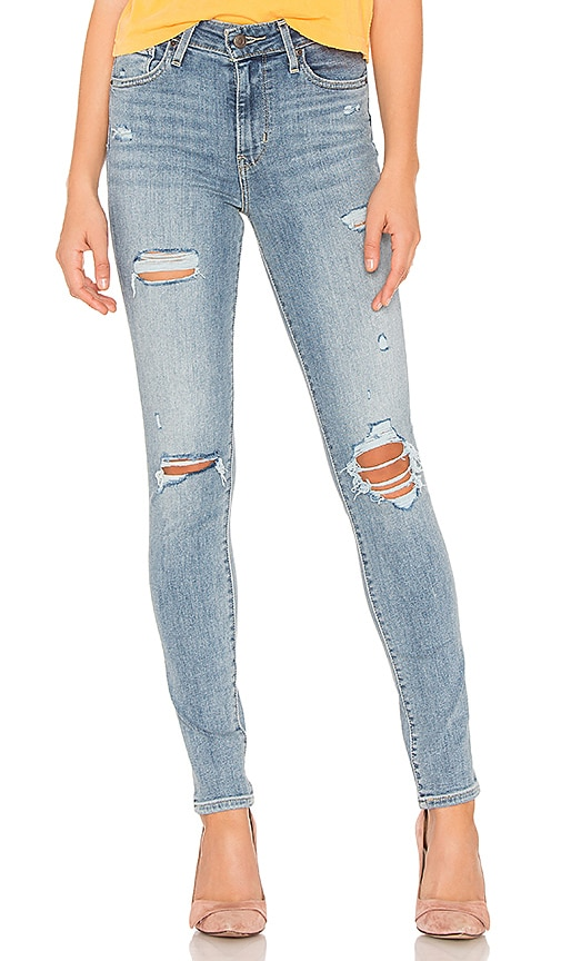 LEVI S 721 High Rise Skinny in Say Anything  61e222564096f