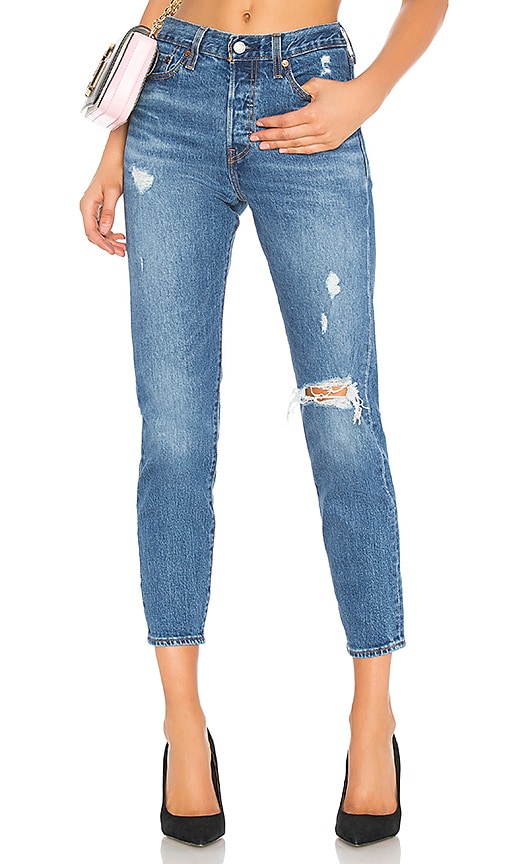 391fbf78 LEVI'S Wedgie Icon Fit in Higher Love | REVOLVE