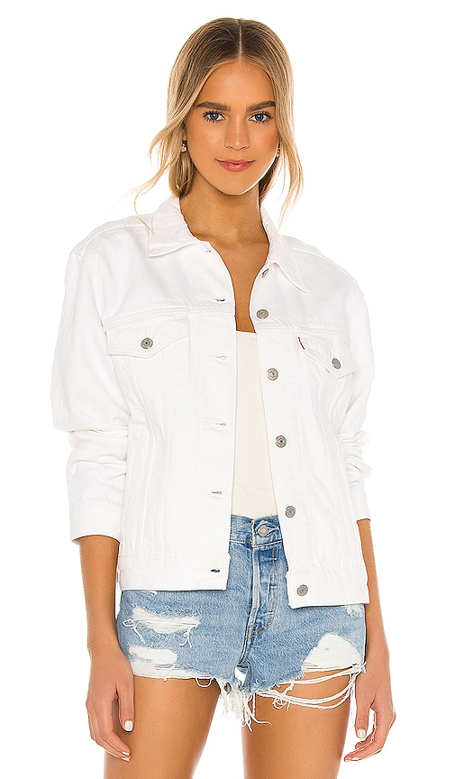 Ex-Boyfriend Trucker Jacket by LEVI'S, available on revolve.com for $98 Kendall Jenner Outerwear SIMILAR PRODUCT