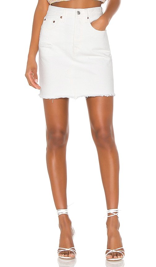 High Rise Deconstructed Skirt