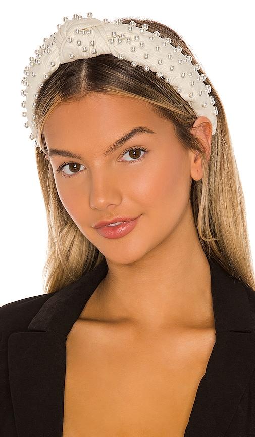 Woven Pearl Headband