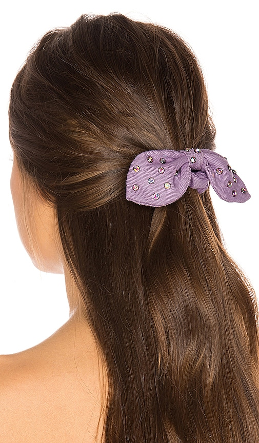 Crystal Woven Scrunchie