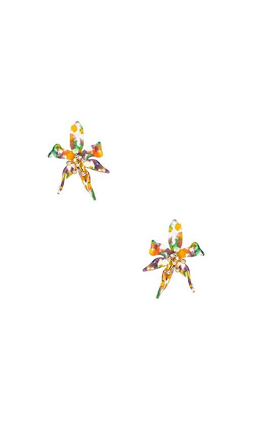 Water Lily Earrings