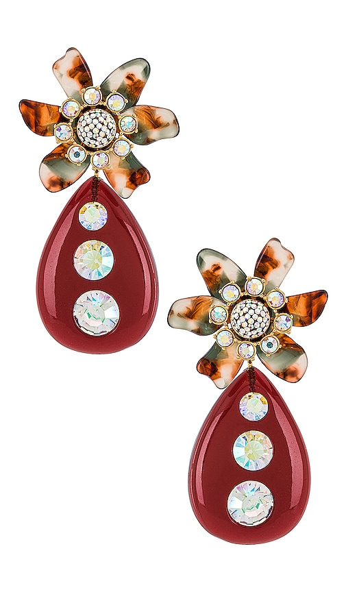 Lele Sadoughi FLOWER BULB EARRINGS