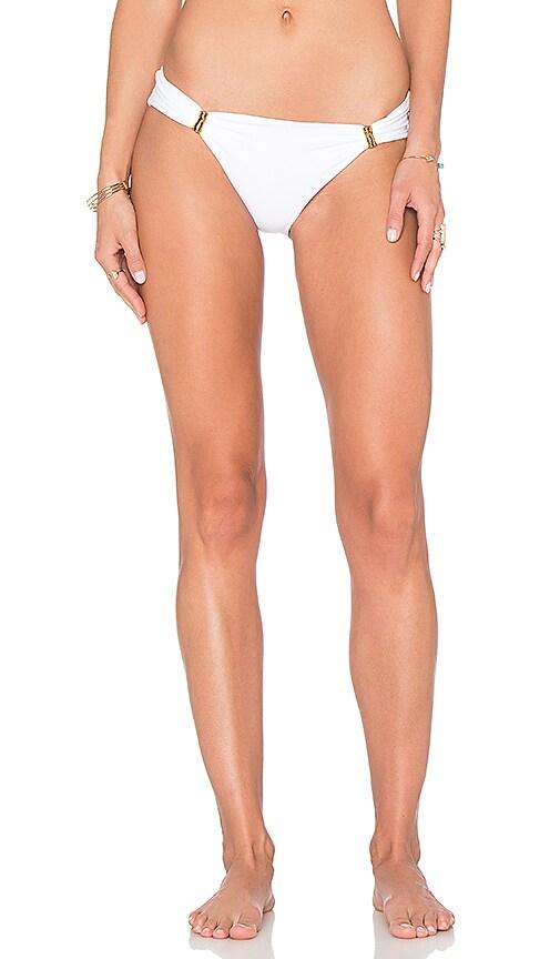 Lenny Niemeyer Adjustable European Bikini Bottom in White