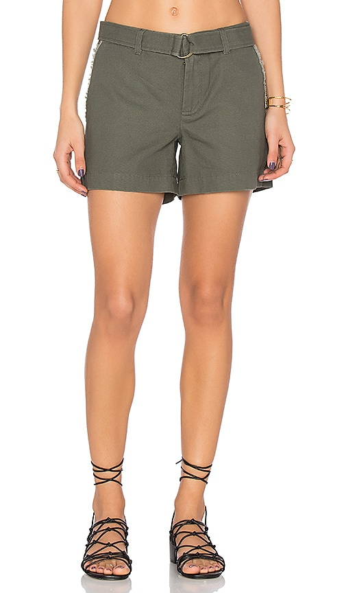 LEO & SAGE Tailored Short in Army