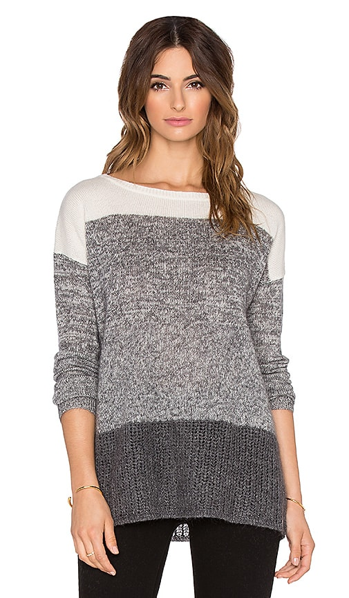 Ombre Boatneck Sweater