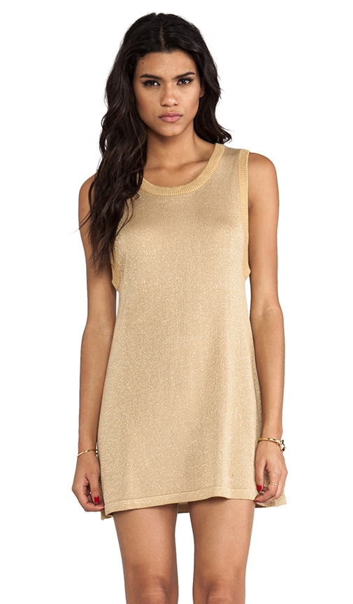 Gold Rush Lures Knit Dress