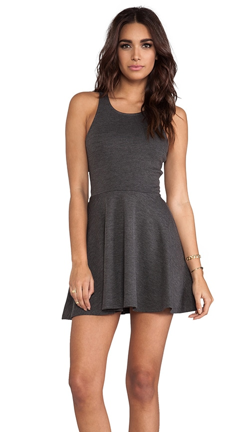 Beach Club Fit & Flare Mini Dress