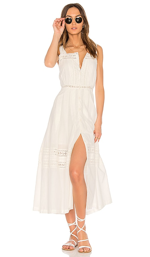 LoveShackFancy Eve Dress in White