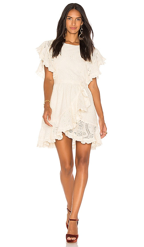 LoveShackFancy Annabelle Dress in Cream