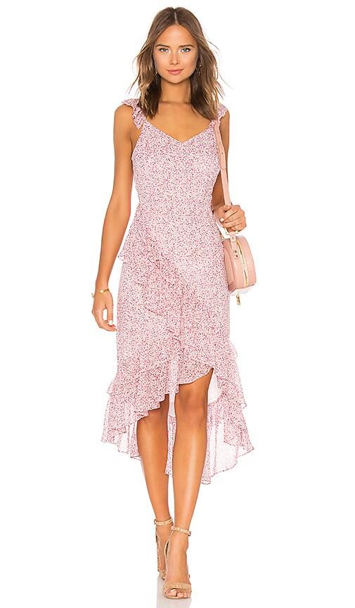LoveShackFancy Maeve Dress in Pink
