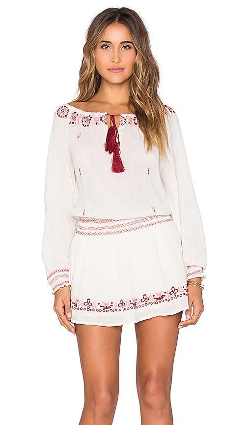 Smocked Peasant Dress