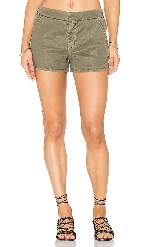 Level 99 Helen Trouser Short in Army