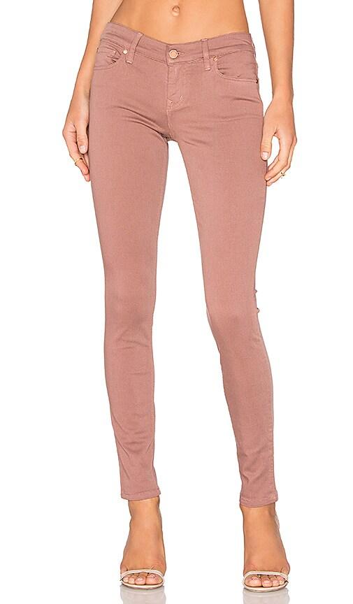 Level 99 Liza 5 Pocket Skinny in Rose Bud