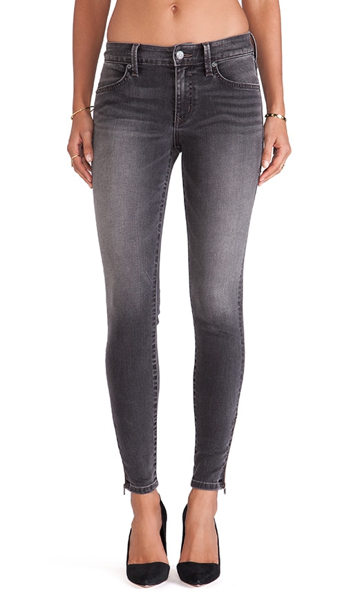 Janice Ultra Skinny with Zippers