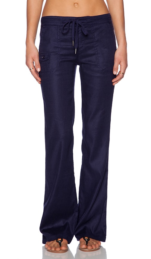 Level 99 Alana Lounge Pant in Navy