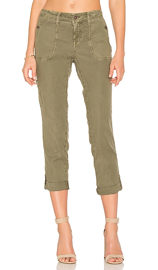 Level 99 Dayla Cargo Pant in Olive