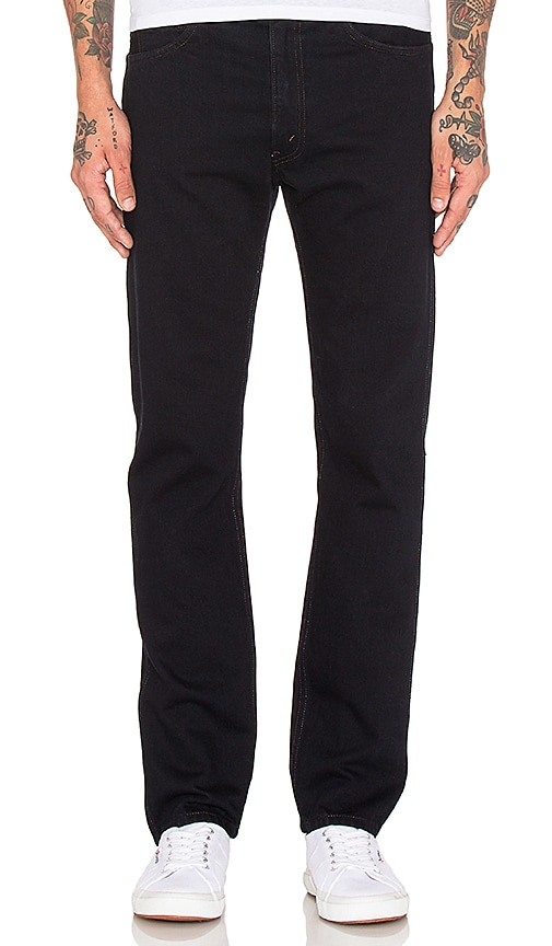LEVI'S Vintage Clothing 1969 606 Jeans in Black Overdye