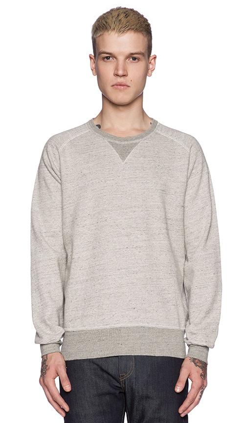 LEVI'S Vintage Clothing 1950's Crew Sweatshirt in Grey Mele