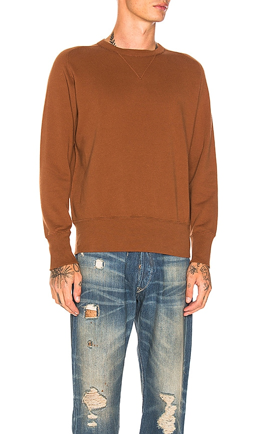 LEVI'S Vintage Clothing Bay Meadows Sweatshirt in Brown